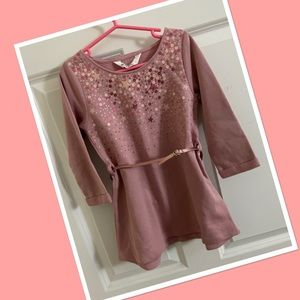 NEW H&M Toddler Dress with sequin detail.